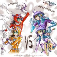 CR 011: Double VS Periwinkle by Podjok-Henshin