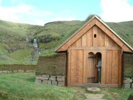 Viking house 2 by frozt-stock