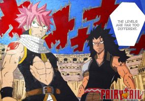 Natsu and Gajeel Fire and Iron Dragon Slayers 2 by fullmetaljuzz