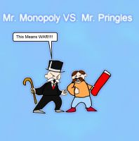 Monopoly Pringles Preview by Garvis