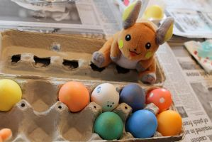 Raichu or Eggs by botskey