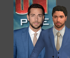 Zachary Levi XNALara model WIP 2 by carbint