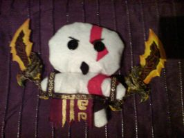 Kratos Plushie by Lady-Janie