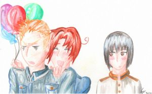 my hetalia b-day gift by kakuume