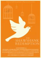 The Shawshank Redemption Poster by W0op-W0op