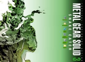 Metal Gear Solid 3 Snake Eater by VirusTE