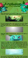 Ivysaur TUT for GIMP by pokemonruler
