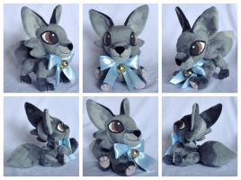 Knight Plushie by foxpill