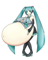 Motherly Miku by RiddleAugust