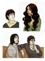 Assorted ASoIaF folks by Pojypojy