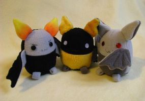 Bats plushies for Sale by chu-po-po