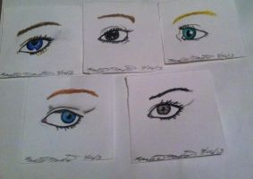 Eyes by Karlieaneina