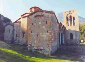 Greek Middle Ages in Oil by tigerous