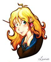 Luna Lovegood by sunglasses-mage