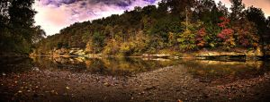 Turkey Run Panorama HDR by Zeal-GJP