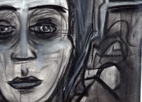 charcoal lady- detail by fatalicon