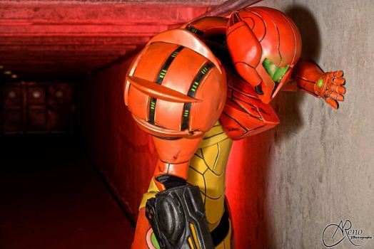 After battle... by Samus-Cosplay