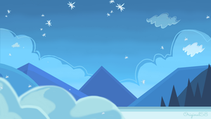 Background - Snowy by Original58
