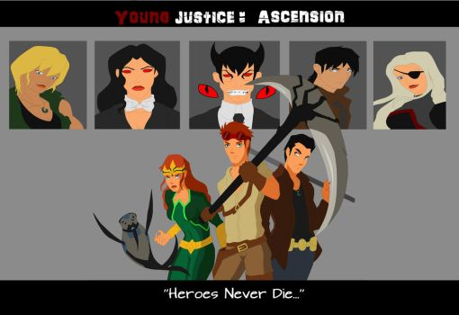 Young justice: Ascension by WickedCurlyFeather