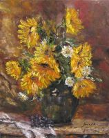 sunflowers in the vase by ENERGIA1