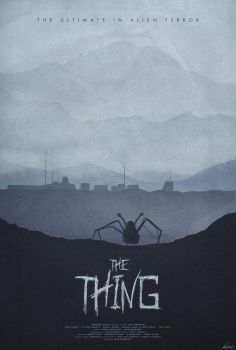Winter - The Thing (1982) Poster by edwardjmoran