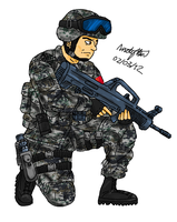 PLA Trooper by ND-2500