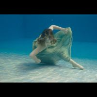 Underwater shoot with Kristin by Senshisoldier