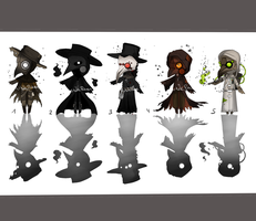 plague doctor adopts  (closed) by o0WhiteRaven0o