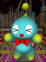 Cheese the Chao .Pose-Copy. by Starruka