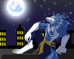 John Talbain: Blue Moon by WarGreymon43