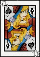 Queen of Spades by Araniel