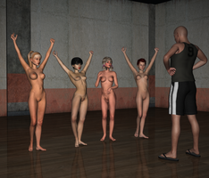 exercise class by badenstern