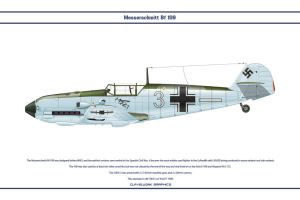 Bf 109 E-3 JG77 2 by WS-Clave