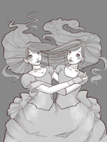 The Sisters by Shroedingers-Cat