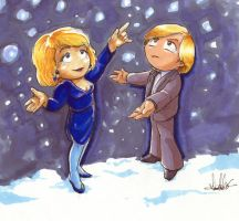 Sapphire and Steel - Snow by Marker-Mistress
