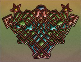 A quick knotwork by BeauW