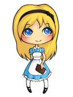 Alice Chibi by EnglishRoses