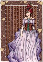 Lavender and Brown by Meaju