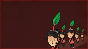 TF2 - Pikmin Scout RED by SuperKusoKao