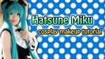 Miku Makeup Tutorial by valxonia