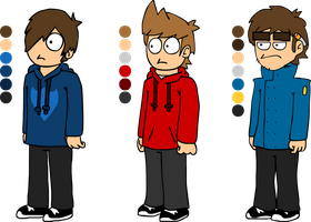 Eddsworld - Color Sheet 2 by SgtShadowWalker
