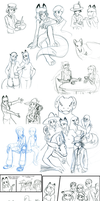 Sketchdump 04 27 15 by DarkKitsunegirl