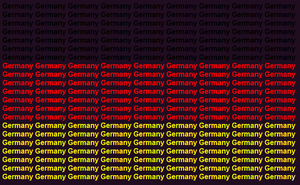 Germany name flag by ABtheButterfly