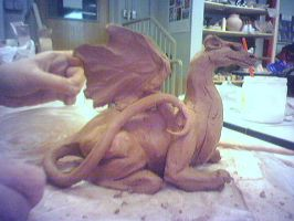 TDN 52-- Ceramics Dragon by TheDailyNissan