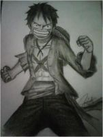 luffy by neilserias