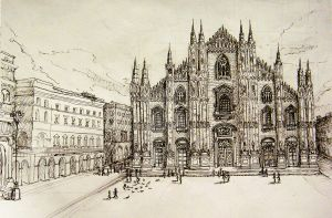 Milan Cathedral by Amika-theonenonly