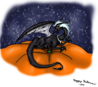 Happy Halloween by Diehardstormhawksfan
