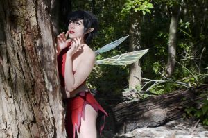 Ferngully: Crysta Cosplay by AmeZaRain