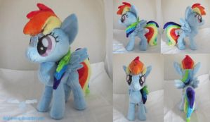 Rainbow Dash Plushie 2.0 by dollphinwing