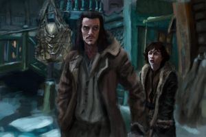 The Hobbit: Desolation of Smaug Study by Silferath